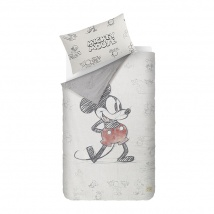 Mickey Mouse Bed Linen | Cream