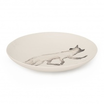 Fox Large Serving Bowl | Charcoal