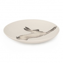 Hare Large Serving Bowl | Charcoal