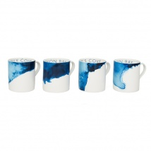 Coves Mugs Set/4