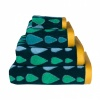 RAIN DROPS HAND TOWEL MULTI GREEN