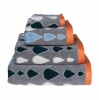 Raindrops Towels | Grey