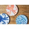 Octopus Large Serving Dish | Blue