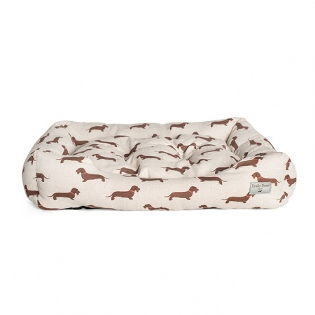 Dog Bed | Wire Haired Dachshund