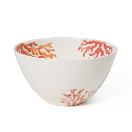 Salad Bowl Coral Red