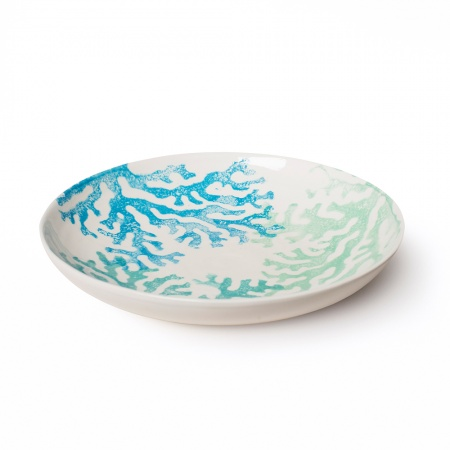 Supper Bowl Coral Blue