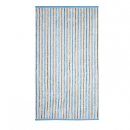 Ticking Stripe Towels | Blue