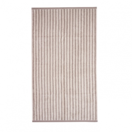Ticking Stripe Towels | Taupe