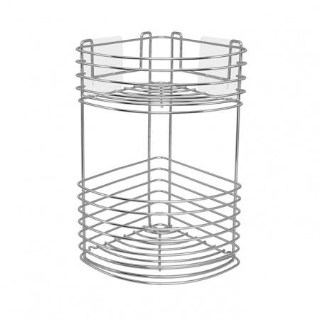 Stick Em Up Corner 2 Tier Basket Unique Amp Unity