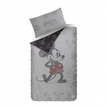Mickey Mouse Bed Linen | Grey