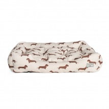 Dog Bed Medium | Wire Haired Dachshund