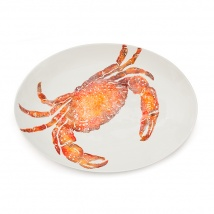 Crab Oval Platter Large