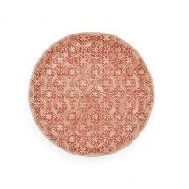 Side Plate | Red Mosaic