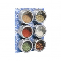 Spice Rack & Jars Set | Blue Palm