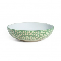 Supper Bowl | Green Diamond