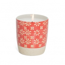Scented Candle | Red Flower
