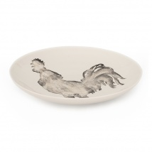 Cockerel Large Serving Dish