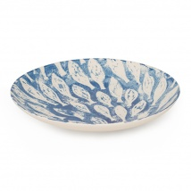 Fish Shoal Large Serving Bowl | Blue