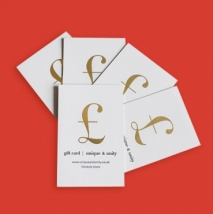 Gift Cards | £10 - £250