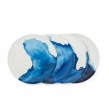 Coves Dinner Plates Set/4
